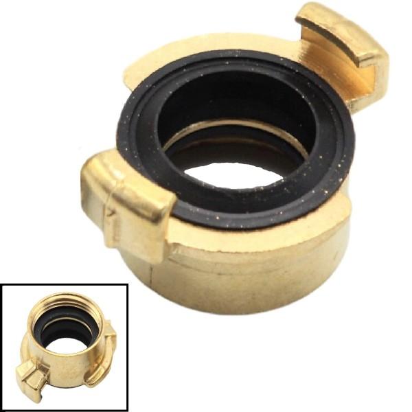 """1"""" - 25 mm IG Schnellkupplung Gewindestück Innengewinde Messing (GEKA kompatibel)"""