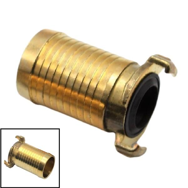 """1 1/2"""" - 38 mm Messing Schlauch Schnell Kupplung Tülle (GEKA kompatibel)"""