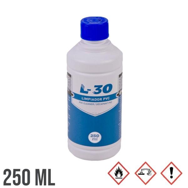 250ml PVC L-30 Spezialreiniger Reinigunsmittel für PVC-Rohre und Zubehör