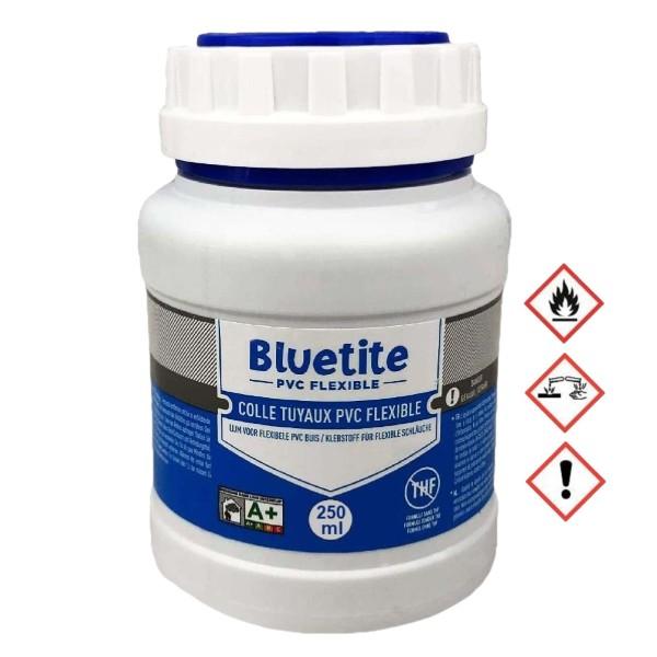 250ml Pott PVC Spaflex Poolflex Klebeschlauch Kleber Bluetite