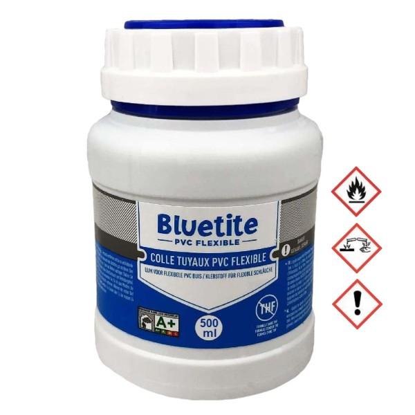 500ml Pott PVC Spaflex Poolflex Klebeschlauch Kleber Bluetite