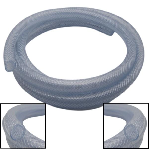 6x12mm Gewebeschlauch Druckluft Pressluft Luft Schlauch PVC RESTPOSTEN - 17m