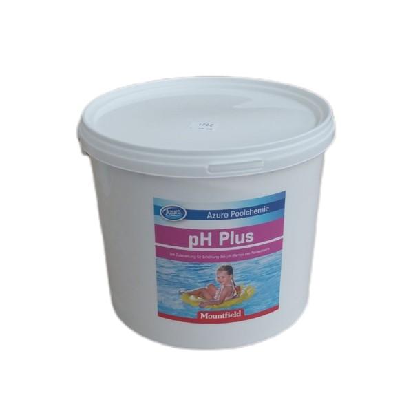 AZURO pH plus pH Heber Desinfektion Wasserpflege Poolpflege 4 kg
