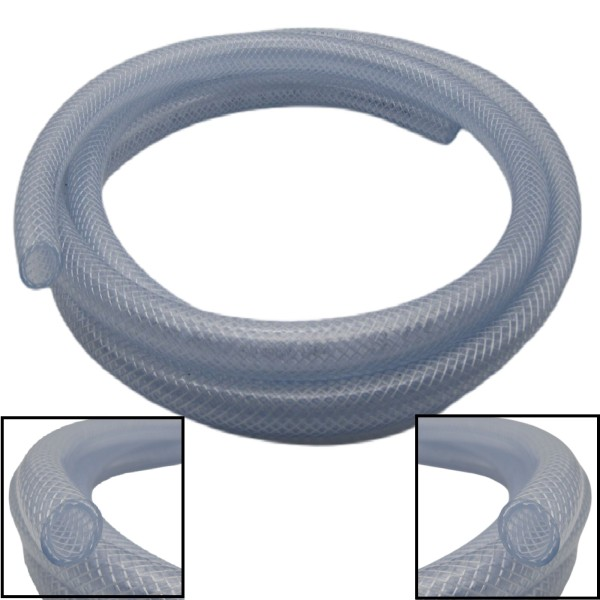 6x12mm Gewebeschlauch Druckluft Pressluft Luft Schlauch PVC RESTPOSTEN - 9m