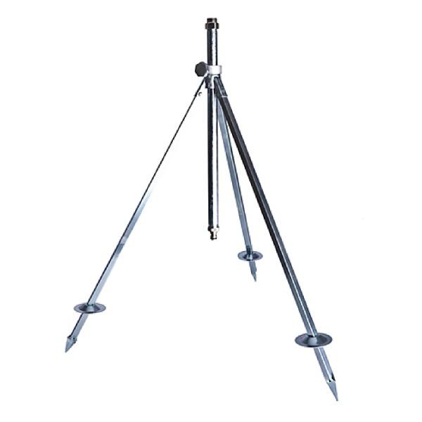 Dreibein Stativ Kreisregner höhenverstellbar Click-System 0,7 - 1,05m Stahl